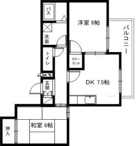 メゾンドタナカ間取 305