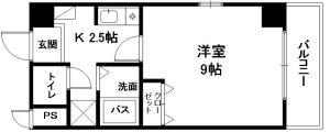 エランビタールⅢ 間取り(3階以上:02号)