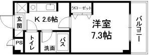 ひまわり壱番館 間取り(05 07 10号)
